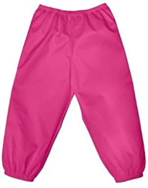 I Play - Rain Pants Kids - Sm/Md - Hot Pink