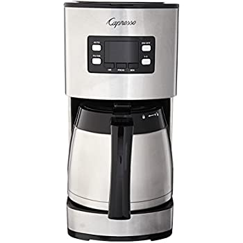 Amazon.com: capresso cm, 300 Acero inoxidable Cafetera ...