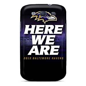 XJS3736HQcw Snap On Cases Covers Skin For Galaxy S3(baltimore Ravens)