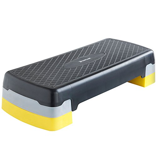 Gold Coast Lightweight / Portable Aerobic Stepper with a Non-Slip Reinforced Coating