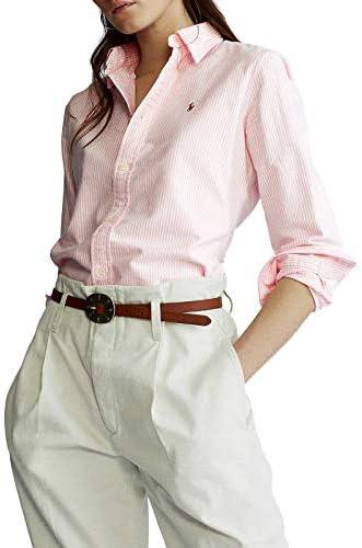 Ralph Lauren Luxury Fashion Femme 211743355005 Rose Coton Chemise | Printemps-été 20