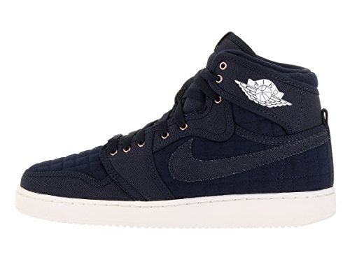 Nike Air Jordan I Ko High Og - 638471403 Obsidian / Wit Mtlc Brons