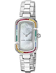 Marc Jacobs Womens The Jacobs Quartz Stainless Steel Casual Watch, Color:Silver-Toned (Model: MJ3538)