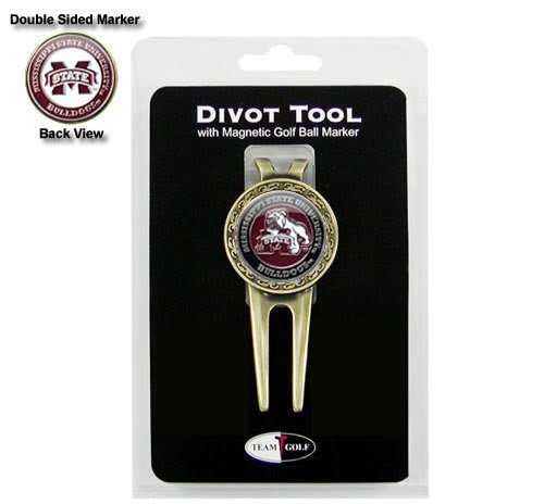 Team Golf Mississippi State Bulldogs Divot Tool and Ball Marker