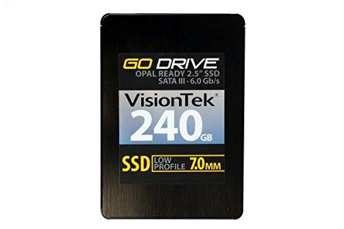 VisionTek 240GB 7mm OPAL 1.0 SATA III Internal 2.5-Inch Solid State Drive - (Go Corporate Secure Usb)