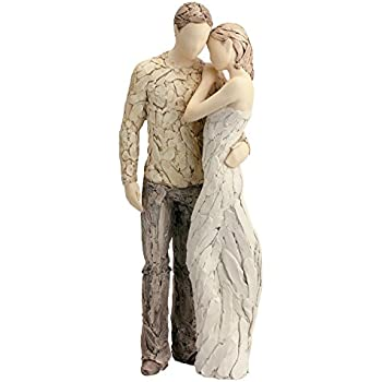 More Than Words Forever Yours White Figurine by Arora Design Ltd