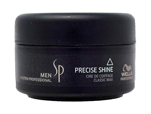Wella SP Men Precise Shine Classic Wax 2.5 Ounce (Wella Molding Gum)