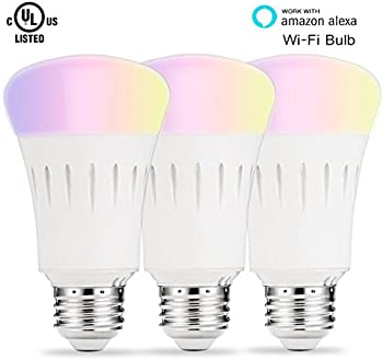 Lohas Wi-Fi Smart Multicolored LED Bulbs