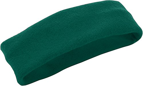 Augusta Sportswear Chill Fleece Headband/Earband OS Dark Green