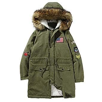 Amazon.com: Mens Tactical Jacket,Mens Winter Hooded Thickening Pullover Shirt Windbreaker Jacket