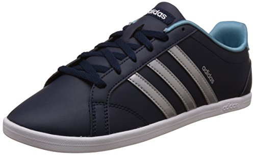 Silver adidas Fitness Navy Collegiate Shoes White Blue Women's Qt Ftwr Coneo Matte zqra1z