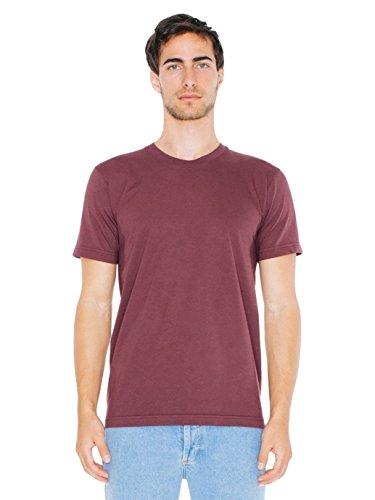 (American Apparel Men Fine Jersey Crewneck T-Shirt Size L Truffle)