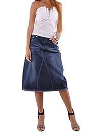 Country Chic Denim Skirt