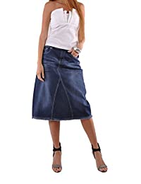Style J Country Chic Denim Skirt