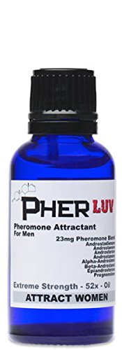 PherLuv Pheromone Cologne OIL for men 1 oz. (Attract Women) Sex (Concentrated Pheromone Cologne)