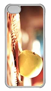 Customized iphone 5C PC Transparent Case - Spring Has Come Personalized Cover