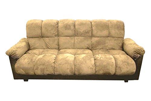 Milton Greens Stars London Storage Futon Sofa Bed with Champion Fabric, Beige