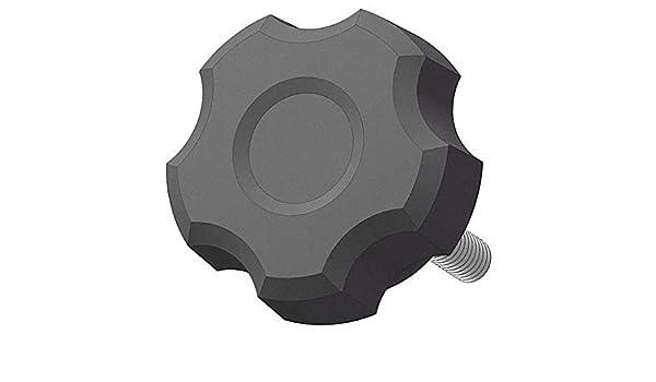 "Fluted Knob Steel 0.875/""L 1//4-20 Thread Size Blind Tap"