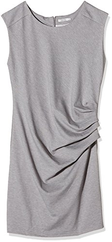Dress Grey Donna Kaffe Grigio Melange India Slim Vestito qUwEaEPS