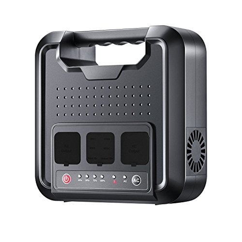 Portable Power Station – 300W 64800mAh Portable Generator, Multifarious Rechargeable Power Source, Dual 110V AC Outlet, Dual DC Ports, 4 USB Ports For Camping, CPAP Or Emergency Backup