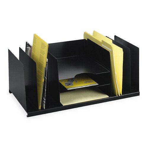 (Desk Organizer, 9 Compartment, 21-1/2