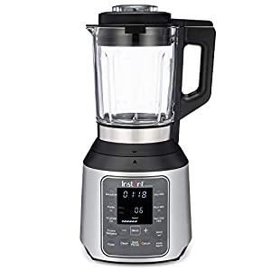 Instant Ace Nova Blender|56 Oz Glass Pitcher|Hot & Cold Settings|Smoothie, Crushed Ice, Nut Butter, Almond Milk, Purée, and Soup|10 Adjustable Speeds|From the Makers of Instant Pot