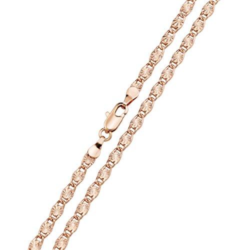 Necklace Rose Gold 18K Gold...