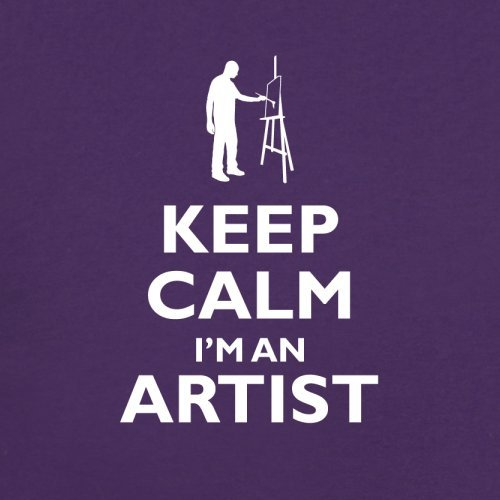 An Keep Calm Unisex Couleur pull Violet Artist I'm Sweat 12 PP1rqxU