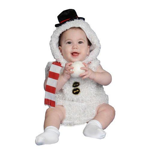 Baby Plush Snow Man Costume Set - 6 (Baby Snowman Costume)