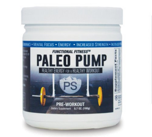 #1 Rated PALEO PUMP All Natural Pre-Workout Energy Blend | 3