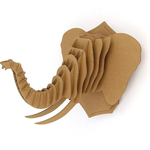 3D Elephant Decor