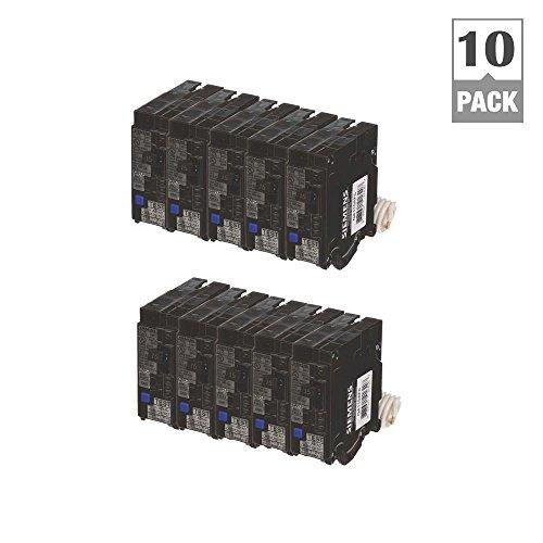 - 15 Amp Single Pole Combination AFCI Circuit Breakers (10 Pack)
