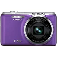 Casio High Speed Exilim Ex-zr20pe Digital Camera Purple