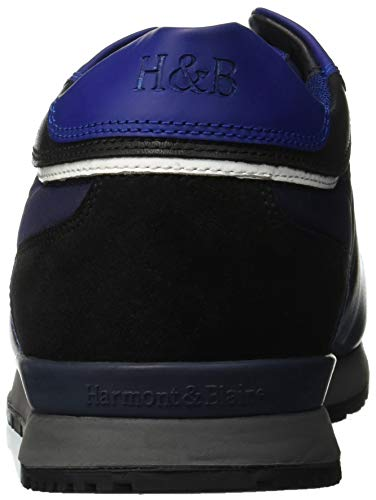 Harmont 616 Blaine Uomo Nero amp; Sneaker Scarpa Nero ggq0Ar