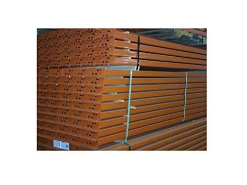 Pallet Racking - Interlake Mecalux Teardrop Step Beam - 96'' x 4'' - 5,030# cap. per pair