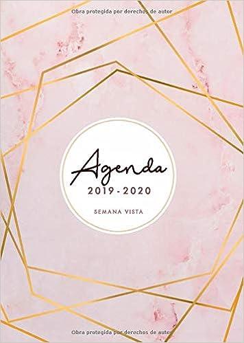 Amazon.com: Agenda 2019 2020 Semana Vista: Agenda 2019/2020 ...