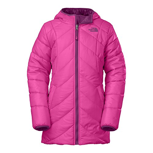 The North Face G Reversible Anabelle Jacket Azalea Pink Girls XL by The North Face