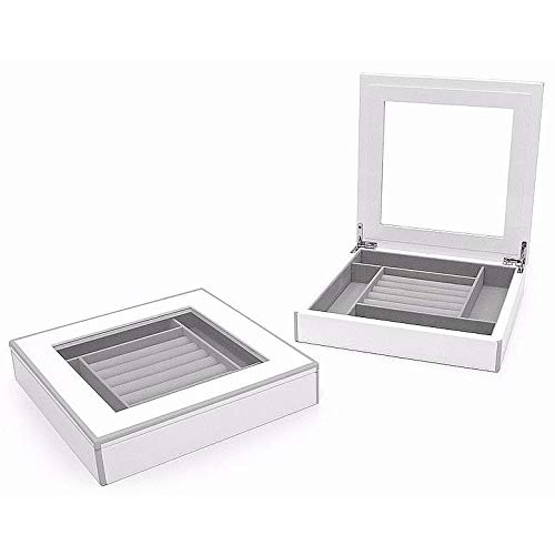 The Original ELLE Jewelry Display Box White Lacquer by Swing Design -