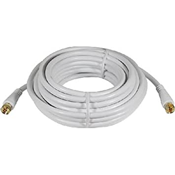 Audiovox VH625WH 7.62m RCA RCA Blanco - Cable coaxial (RCA, RCA, Oro