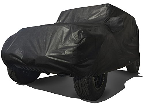 Wheel Cover Canvas Duty Heavy (CarsCover Custom Fit 2004-2019 Jeep Wrangler Unlimited JK JL 4 Door SUV Car Cover Heavy Duty All Weather Ultrashield Black)