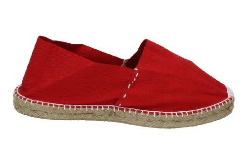 Made in Spain - Alpargatas para hombre Rojo Rosso (Rojo): Amazon.es: Zapatos y complementos