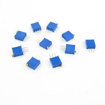 2 Pieces Potentiometer Trimmer 3296w 1k Ohm 1 kohm
