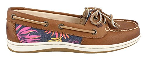 Sperry Tan de zapatos Sider Animal la mujer Multi barco Pink Firefish Top TWxrqnTU
