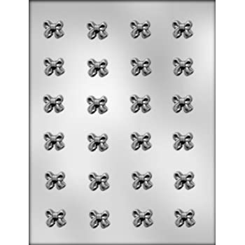CK Products 3/4-Inch Ribbon Bow Chocolate Mold