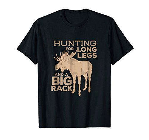 - Moose Hunting Big Rack Bull Hunter Hunt Season T Shirt Gift