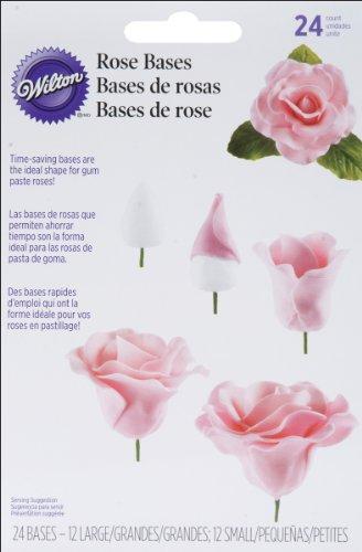 Rose Bases 24/Pkg- (Pkg Rose)