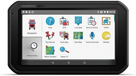 Garmin dēzl 780 LMT-D Europa, navegador GPS para camión de 7