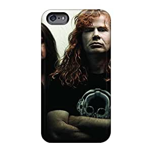 JasonPelletier Iphone 6plus High Quality Hard Phone Covers Custom Attractive Megadeth Band Pattern [KCI337gzwd]