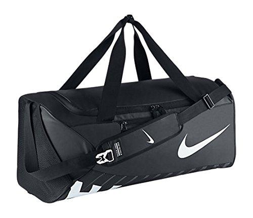 Nike Unisex Sporttasche Alpha Adapt Crossbody, black/white, 68.5 x 30.5 x 30.5 cm, 62 Liter, BA5181-010