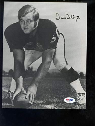 Oakland Raiders Nfl Hand Signed - Dave Dalby Oakland Raiders Photo Photograph Picture Signed Autograph Auto PSA/DNA COA Football NFL